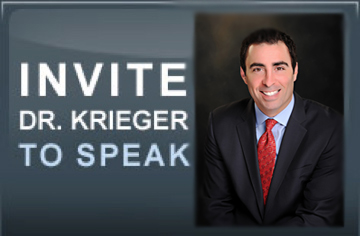 Invite Dr. Krieger to Speak